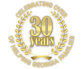 Celebrating Over 30 Years of Helping Georgia Families Logo | Georgia Attorney Jon Brockman