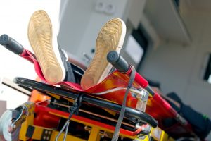injury from car accident in construction zone